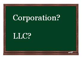 Corporation vs. LLC
