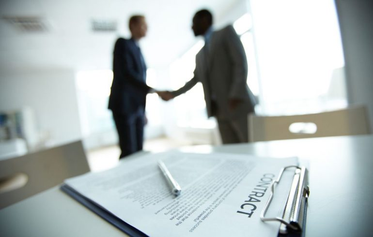 elements of a contract business law