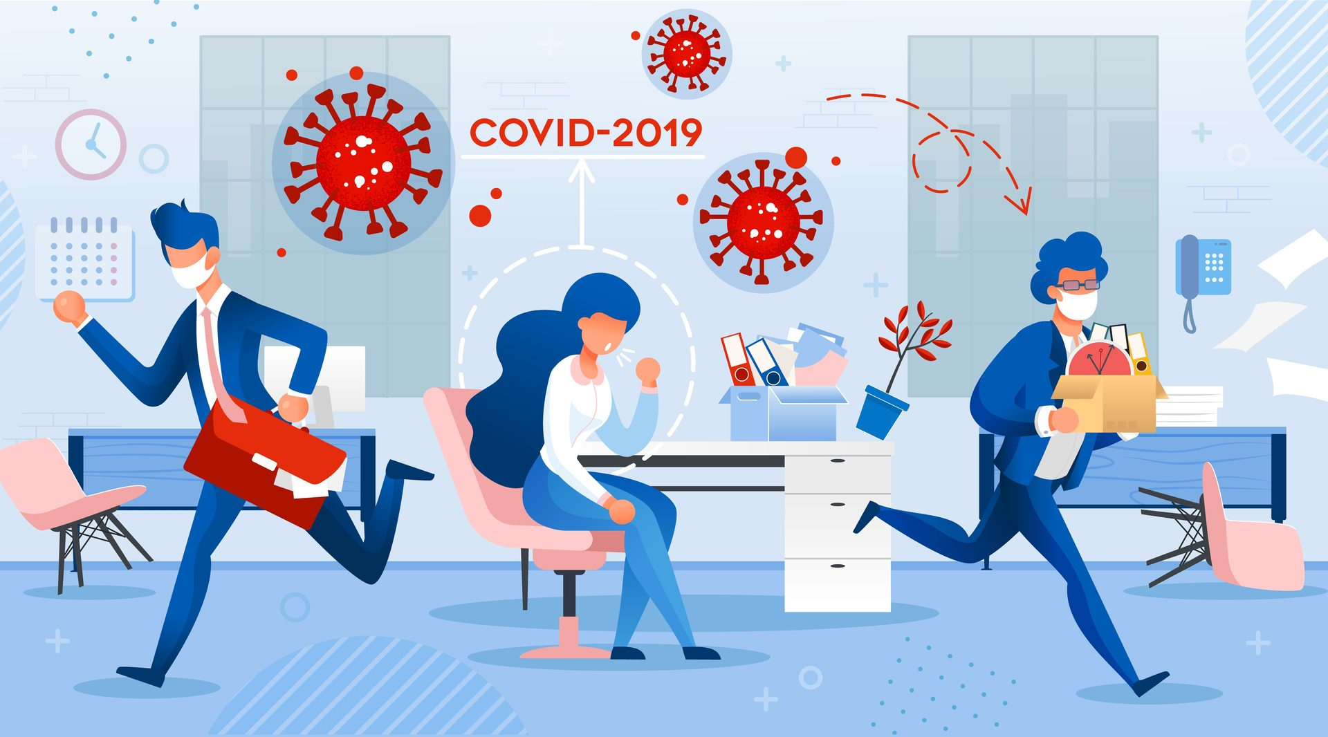 HOW DOES THE COLLISION OF THE COVID-19 PANDEMIC WITH WORKPLACES POSE SAFETY ISSUES FOR EMPLOYERS?